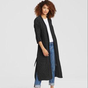 Eileen Fisher Morse Code Kimono Jacket